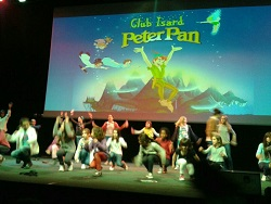 Sketch de Peter Pan, tot un éxit - Club Isard